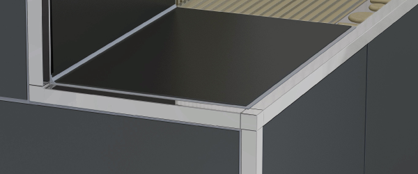 quadratprofile arwei saubere ideen mit system. Black Bedroom Furniture Sets. Home Design Ideas